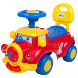 Gyermek jármű sípolóval Bayo Train red
