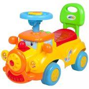 Gyermek jármű sípolóval Bayo Train yellow