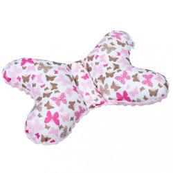 Stabilizáló párna New Baby rózsaszín pillangó