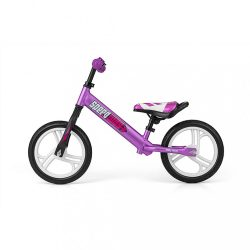 "Gyermek lábbal hajtós bicikli Milly Mally Speedway 12"" violet"