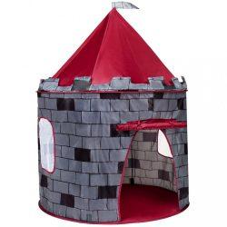 Gyermek sátor PlayTo Vár szürke