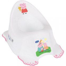 Gyerek csúszásmentes bili Peppa Malacka white-pink