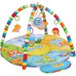 Játszószőnyeg játékmodullal Baby Mix szafari
