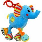 Vibrálós gyerek plüss játék Baby Mix elefánt
