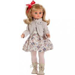 Luxus spanyol baba-kislány Berbesa Laura 40cm
