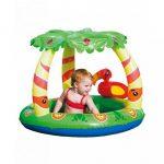 Gyermek felfújhatós medence tetővel Bestway Jungle