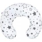 Szoptató párna New Baby szürke csillagok