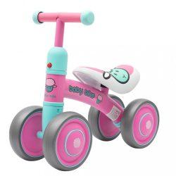 Gyerek futóbicikli Baby Mix Baby Bike rózsaszín