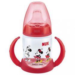 Baba tanulópohár NUK Disney Mickey 150ml piros