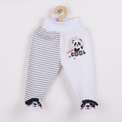 Baba lábfejes nadrág New Baby Panda