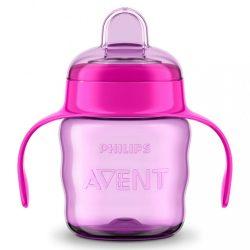 Bájos itató pohár Classic Avent 200 ml lány