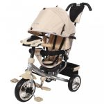 Gyerek háromkerekű bicikli  Baby Mix Lux Trike bézs