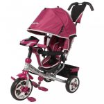 Gyerek háromkerekű bicikli  Baby Mix Lux Trike rózsaszín
