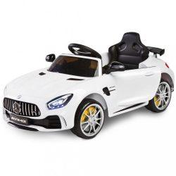 Elektromos autó Toyz Mercedes GTR - 2 motorral white