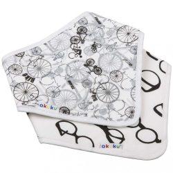 Gyerek előke-kendő Akuku 2 db bicikli-szemüveg