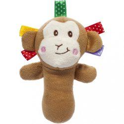 Sípolós plüss játék Akuku majmocska