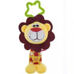 Csörgős plüss játék Akuku oroszlán