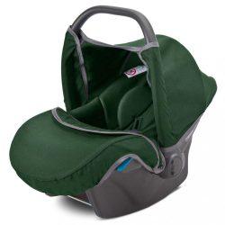 Autós gyerekülés-babahordozó CAMINI Musca dark green