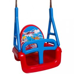 Gyerek hinta 3az1-ben car Swing red