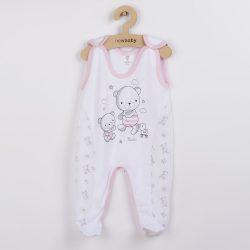 Baba rugdalózó New Baby Bears rózsaszín