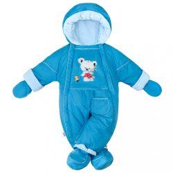 Téli kezeslábas 2az1-ben New Baby Winter kék