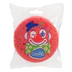 Fürdető szivacs Klaun Calypso sötét rózsaszín