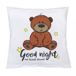 Párna nyomtatással New Baby Good night 40x40 cm