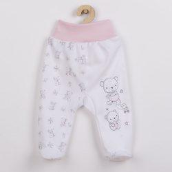 Baba lábfejes nadrág New Baby Bears rózsaszín