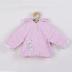 Téli baba kabátka New Baby Nice Bear rózsaszín