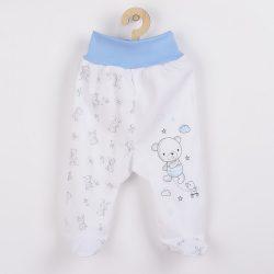 Baba lábfejes nadrág New Baby Bears kék