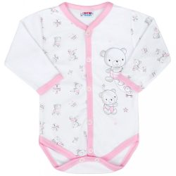 Baba patentos body New Baby Bears rózsaszín