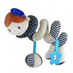 Spirálos játék kiságyra Baby Mix tengerész fiú