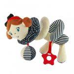 Spirálos játék kiságyra Baby Mix tengerész lány