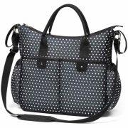 Stílusos táska babakocsira BASIC SO CITY Baby Ono fehér fekete