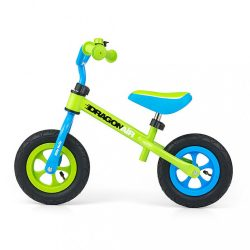 Gyerek futóbicikli Milly Mally Dragon Air green