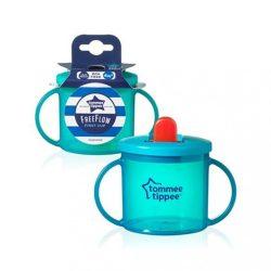 Gyermek itatópohár szopókával Tommee Tippee 190 ml türkiz