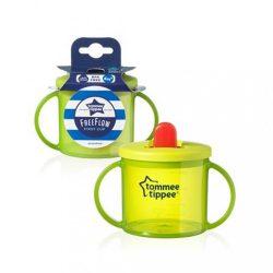 Gyermek itatópohár itatócsőrrel Tommee Tippee 190 ml zöld