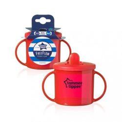 Gyermek itatópohár szopókával Tommee Tippee 190 ml piros