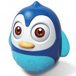Keljfeljancsi játék Baby Mix pingvin blue