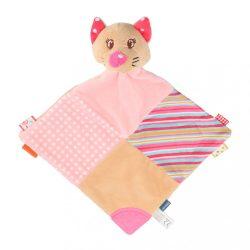 Szundikendő Cica Baby Mix rózsaszín