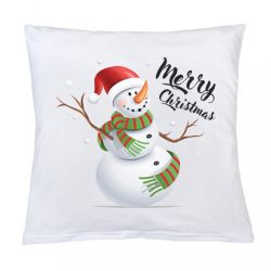 Párna nyomtatással New Baby Merry Christmas 40x40 cm