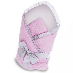 Pólya masnival Belisima Nyuszi rózsaszín-szürke