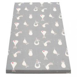 Gyerek habszivacs matrac New Baby 120x60 szürke - különféle minta