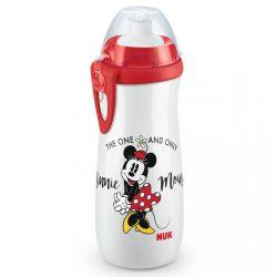 Gyermek bögre NUK Sports Cup Disney Mickey 450 ml red