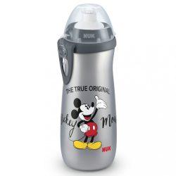 Gyermek sport itatópohár NUK Sports Cup Disney Cool Mickey 450 ml grey