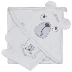 Kifogó fürdőkesztyűvel Koala Yogi white