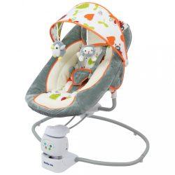 Gyermek forgatható pihenőszék 2az1-ben Baby Mix grey