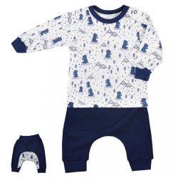 Szabadidőnadrág és póló Koala Tajga kék