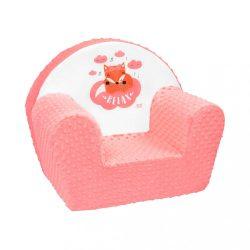 Gyermek fotel New Baby Róka lazacszín