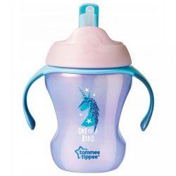 Gyerek itató pohár szívószállal  Tommee Tippee Explora egyszarvú